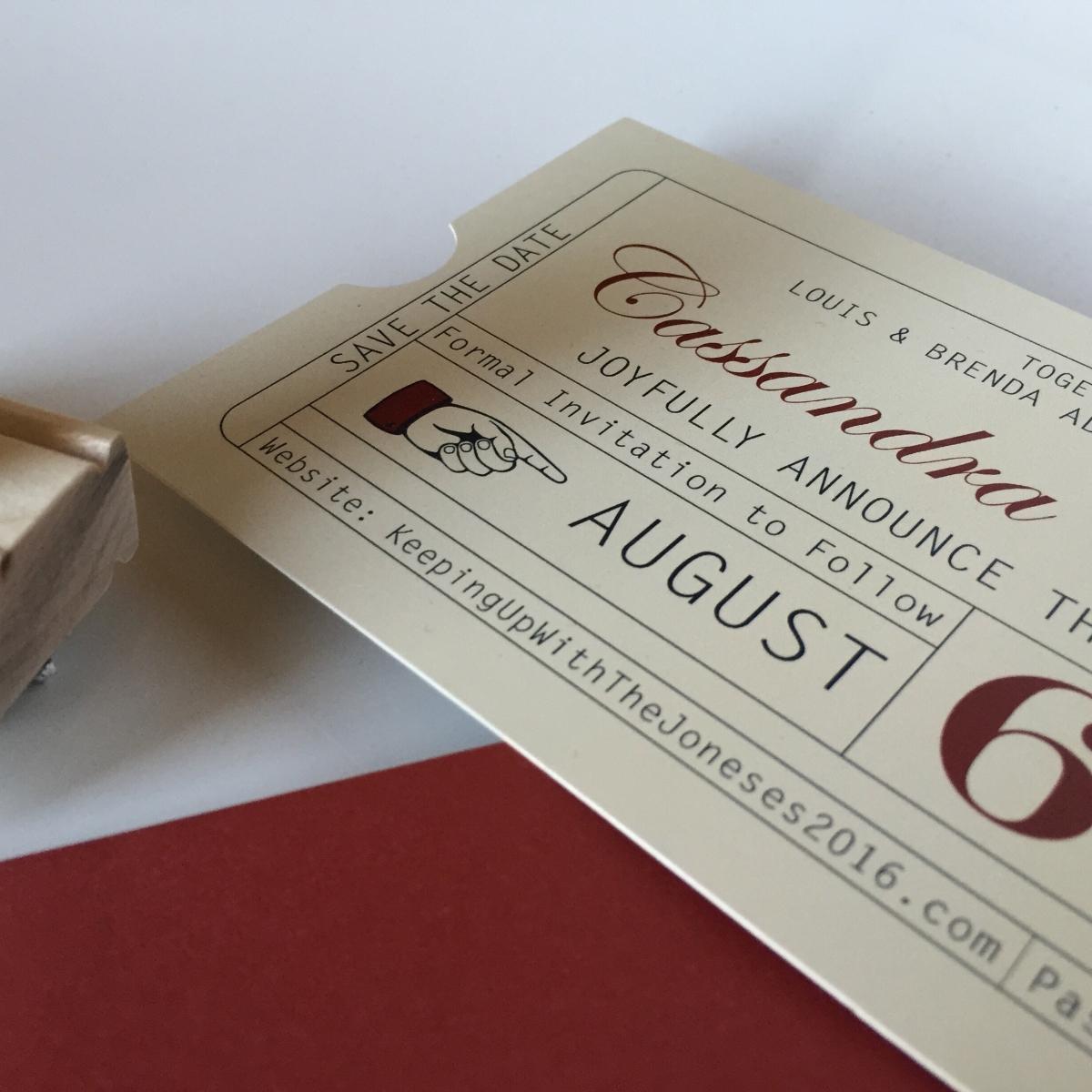 Custom Wedding & Event Branding - J\'Marie Design Studios
